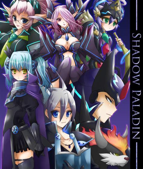Cardfight Vanguard Pr0455 Shadow Palladin skull witch nemain shadow paladin zerochan anime image