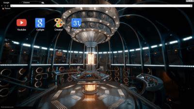 theme chrome doctor who doctor who chrome themes themebeta