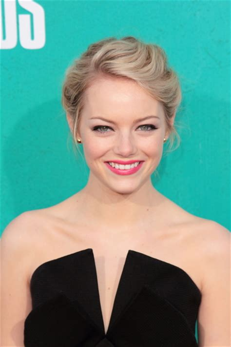 emma stone updo anna paquins sophisticated blonde updo hairstyle with