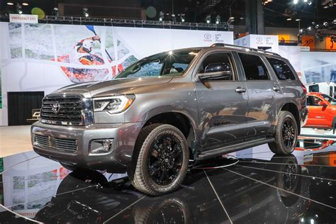 New Toyota Sequoia 2018 by 2018 Toyota Tundra Sequoia Refreshed Debut New Trd Sport