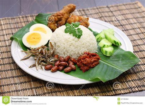 design banner nasi lemak nasi lemak malaysian coconut rice stock photo image