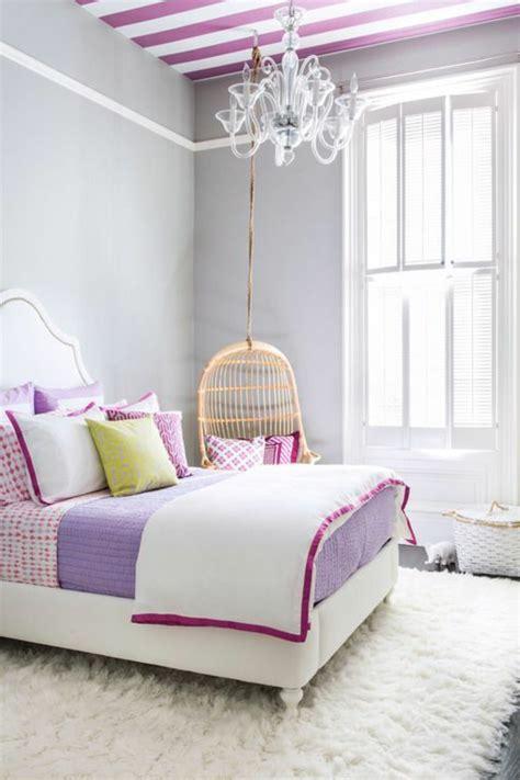 Chambre Violet Et Blanc Pour Ados by La Chambre Ado Fille 75 Id 233 Es De D 233 Coration Archzine Fr