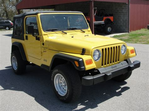 Jeep Gilbert Jeep Wrangler 2000 Stk 688 Gilbert Jeeps And 4x4 S