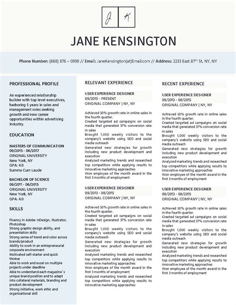 professional resume templates beautiful and word editable winning resume templates for microsoft word apple pages