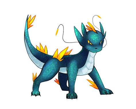 2 on pokemonnowandforever deviantart drakeon by nyrallia on deviantart