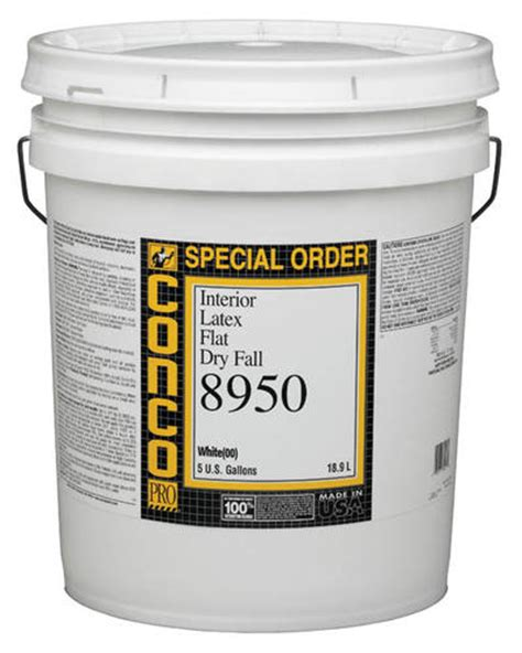 conco 8950 flat interior fall paint 5 gal at menards 174