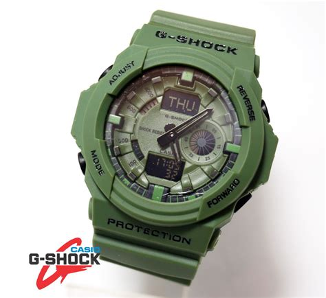 G Shock Ga 310 Black Kw g shock ga 150 green army kucikuci shop jam