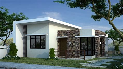 house design modern small modern bungalow house designs and floor plans for small