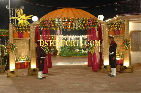 Wedding Gate Banner by New Indian Wedding Welcome Gate