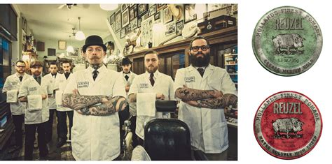 Hair Style Products Press Release by Schorem Barbershop Launches Reuzel S Hair Brand In The Uk