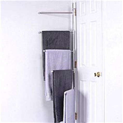 Door Hinge Towel Rack by Suffield Hinge Mount Towel Rack In The Door Towel Racks