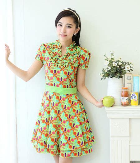 premium high quality dress ds3279 green tamochi