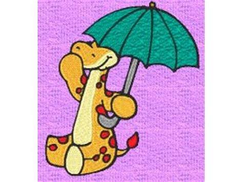 Gcp Monkey Umbrella Embroidered monkey embroidery machine design sets page 4