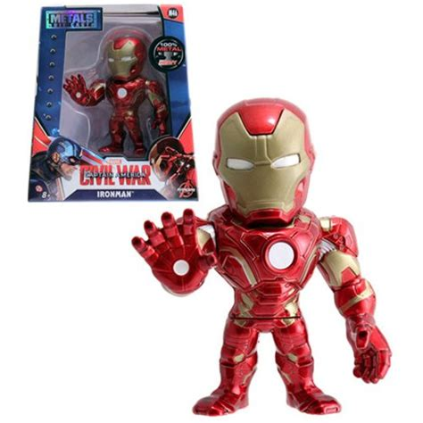 Kaos Avenger Ironman captain america civil war iron 4 inch die cast metal