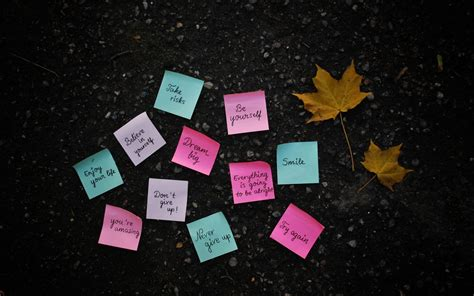 sticky wallpaper sticky note motivational wallpaper 858 1920x1200
