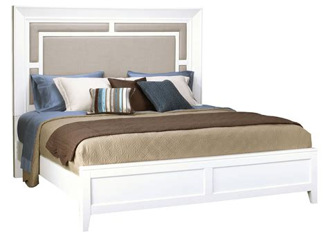 king size panel bed brighton white cal king size panel bed 8673 270 271 406 samuel lawrence