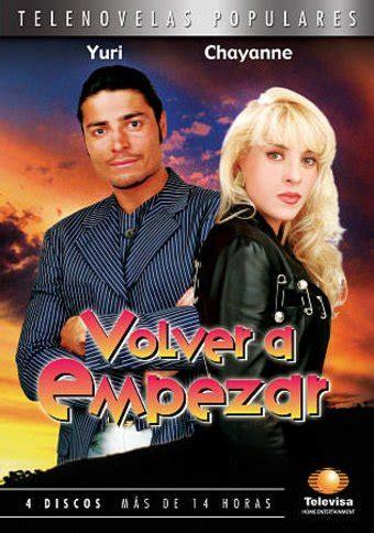 talk spanish complete book cd pack almudena sanchez volver a empezar telenovelas populares spanish language 4 dvd 2008 starring chayanne