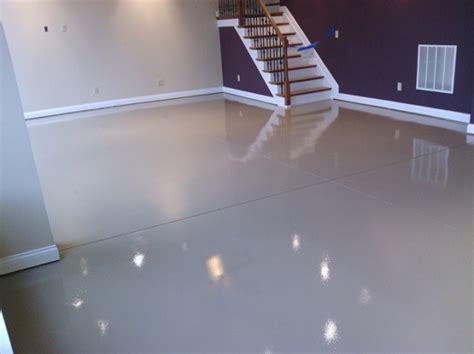 White epoxy paint waterproof basement flooring   Flooring