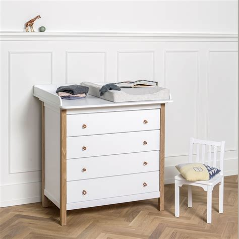 White Dresser For Nursery by Wood Nursery Dresser In White Nursery Furniture