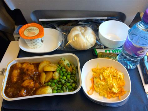 food review flight food review airways economy lhr lax fly dine