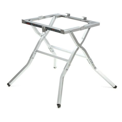 folding table saw stand bosch 10 in table saw folding stand works with bosch