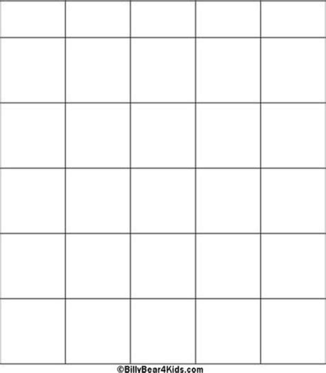 blank bingo cards images