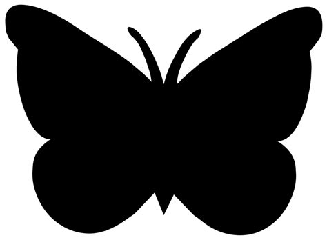 imagenes mariposas siluetas silueta dibujo contorno 183 imagen gratis en pixabay
