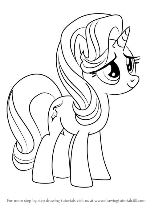 Learn How to Draw Starlight Glimmer from My Little Pony