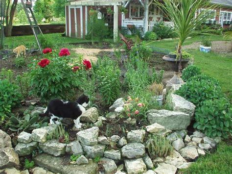 giardini con pietre e sassi sassi da giardino progettazione giardini usare sassi