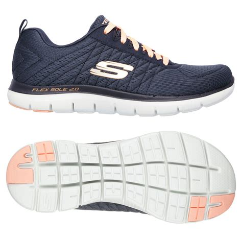 skechers sport running shoes skechers sport flex appeal 2 0 free athletic
