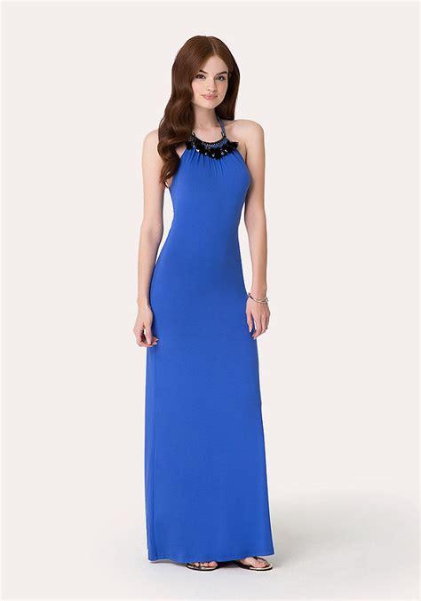 Sale Dress Bebe Halter 1 necklace halter maxi dress bebe