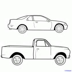 Cool Drawings Of Trucks Sketch Templates sketch template