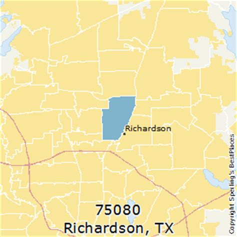 richardson texas zip code map best places to live in richardson zip 75080 texas