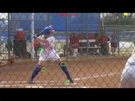 college swing fastpitch hitting analysis college swing 1 youtube