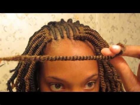 how to defrizz kanekalon pretwisted hair before using crochet twists nubian twists tutorial youtube
