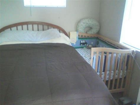 Co Sleeping Sidecar Crib by Turning A Crib Into A Co Sleeper Instead Of Dealing With