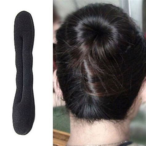 new sponge hair pics hot new magic sponge hair styling bun maker twist curler