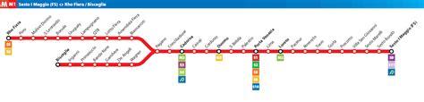 porta romana metro linee metropolitana di metro di