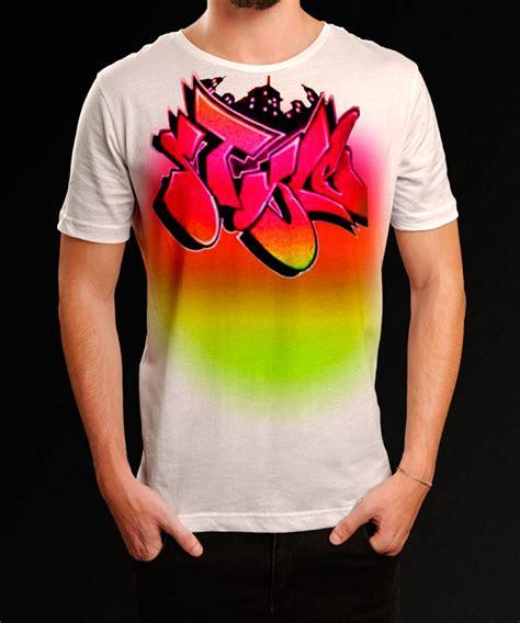 T Shirt Grafiti vintage 80 s mens graffiti t shirt spray tees