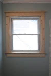 Window Trim Craftsman Interior Window Trim Ideas