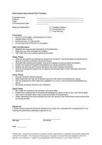 performance improvement plan template free doc 585564 sle employee performance improvement plan
