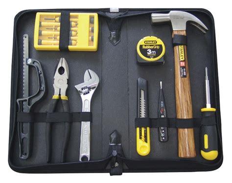 Household Set Tools Set Tang Obeng Kunci Inggris Total 9 Buah harga stanley 19pcs tool set diy
