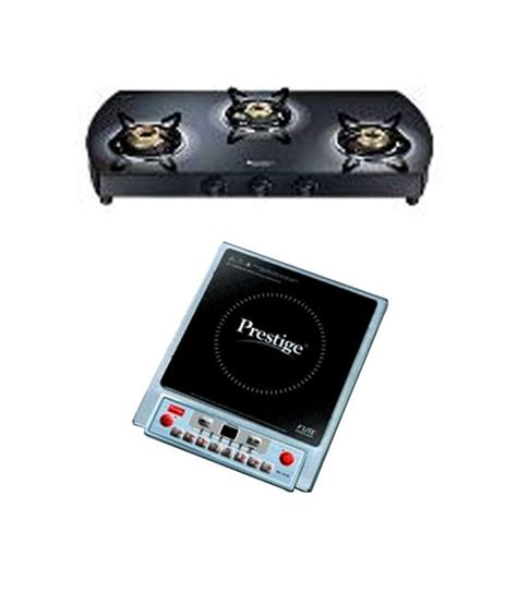 Induction Gas Cooktop Combo prestige gts 03i gas cooktop pic 1 0 v2 induction cooktop combo price in india buy prestige