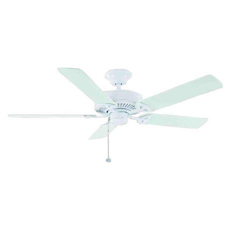 52 farmington ceiling fan farmington 52 in indoor matte white ceiling fan 32762