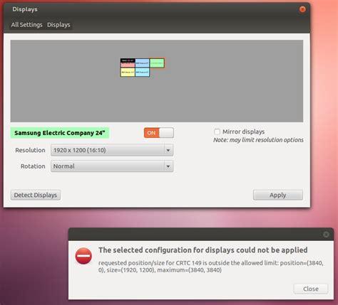 layout xorg xorg x fails to start with five displays multi desktop