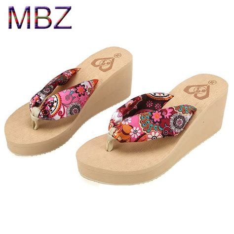 designer slippers womens summer wedges slippers flops platform new style