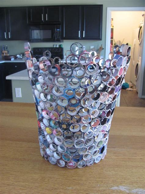 Handmade Craft From Waste Material - magazine waste basket