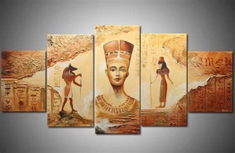 hand painted home decor oil painting on canvas oh5298 abstract ancient egyptian