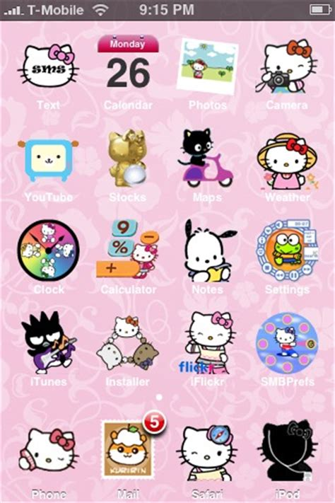 hello kitty themes iphone 3gs 25 free iphone themes for download real geek