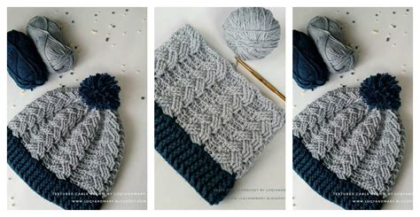 19 cool beanie designs and free hat patterns tip junkie cable beanie hat free crochet pattern